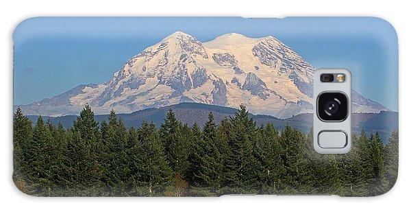 Mount Rainier Washington Galaxy Case by Tom Janca
