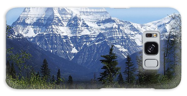 Mount Robson - Canada Galaxy Case by Phil Banks