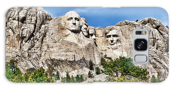 Mount Rushmore Galaxy Case by Don Durfee