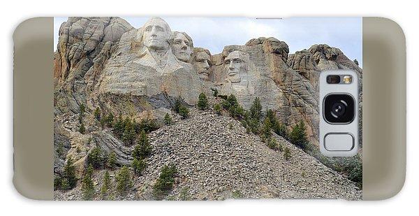 Mount Rushmore In South Dakota Galaxy Case by Clarice  Lakota