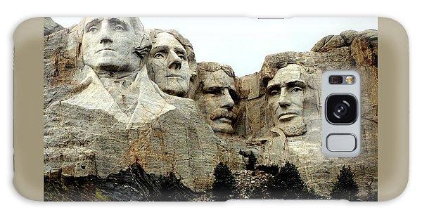 Mount Rushmore Presidents Galaxy Case by Clarice  Lakota