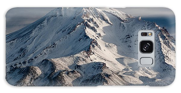 Mount Shasta Close-up Galaxy Case by Greg Nyquist