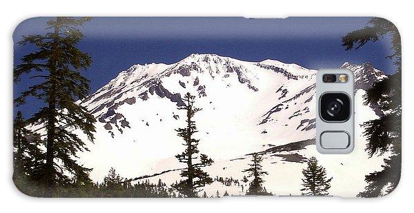 Mount Shasta Galaxy Case