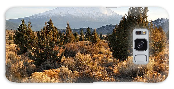 Mount Shasta In The Fall  Galaxy Case