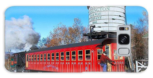 Mount Washington Cog Railway Car 6 Galaxy Case