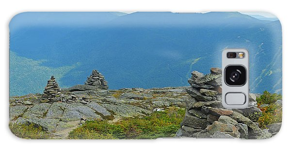 Mount Washington Rock Cairns Galaxy Case