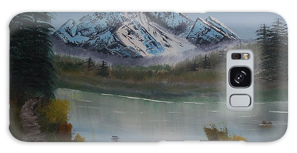 Mountain And River Galaxy Case by Ian Donley