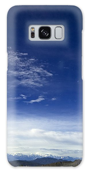 Mountain And Sky Galaxy Case by Rajiv Chopra