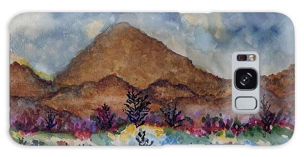 Mountain Desert Scene Galaxy Case