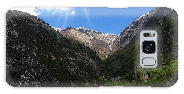 mountain Georgia Galaxy Case by Yury Bashkin