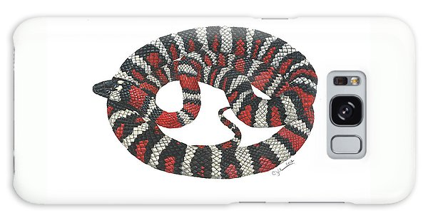 Mountain King Snake Galaxy Case