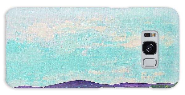 Mountain Lake Galaxy Case by Gail Kent