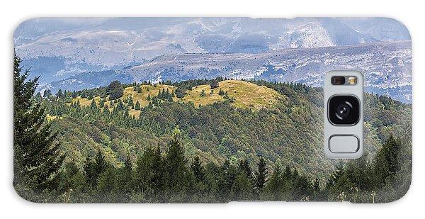 Mountain Landscape. Italy Galaxy Case