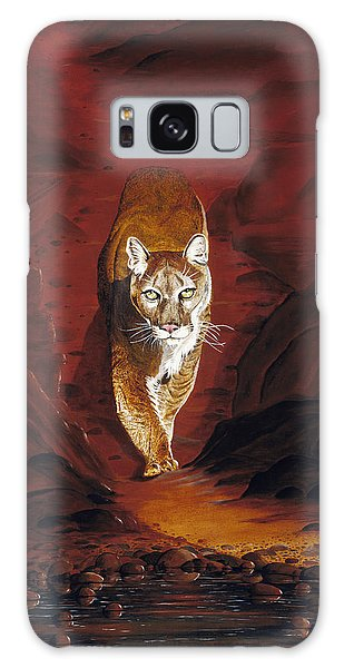 Mountain Lion Galaxy Case by Carl Genovese