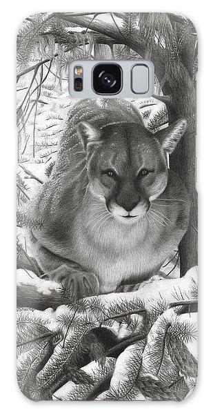 Mountain Lion Hideout Galaxy Case