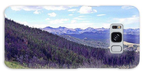 Mountain Man's Dream Galaxy Case by Christian Mattison