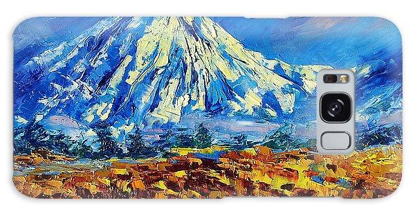 Mountain Painting Fine Art By Ekaterina Chernova Galaxy Case