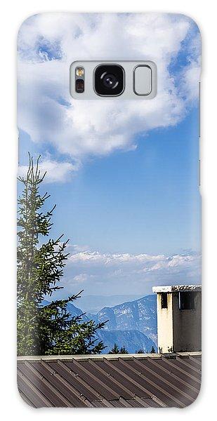 Mountain Panorama. Italy Galaxy Case