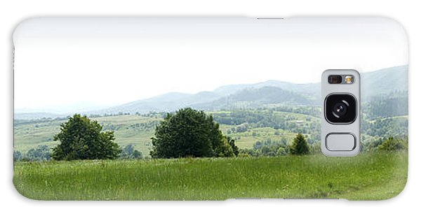 Mountain Panorama Galaxy Case