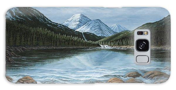 Mountain Paradise Galaxy Case