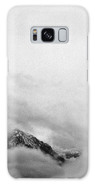 Mountain Peak In Clouds Galaxy Case