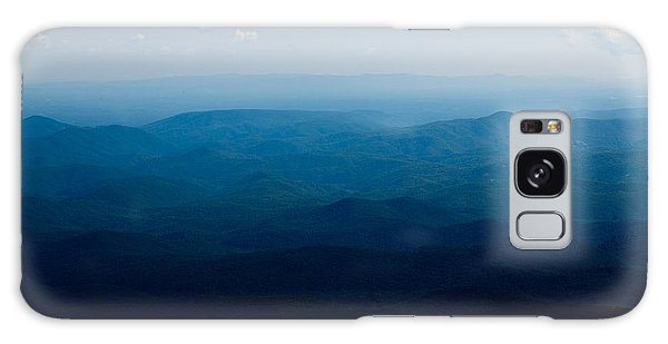 Mountain Peak Galaxy Case by Kim Fearheiley