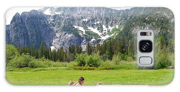 Mountain Picnic Galaxy Case