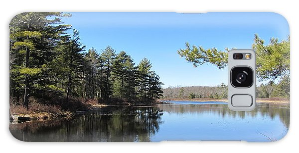 Mountain Pond - Pocono Mountains Galaxy Case