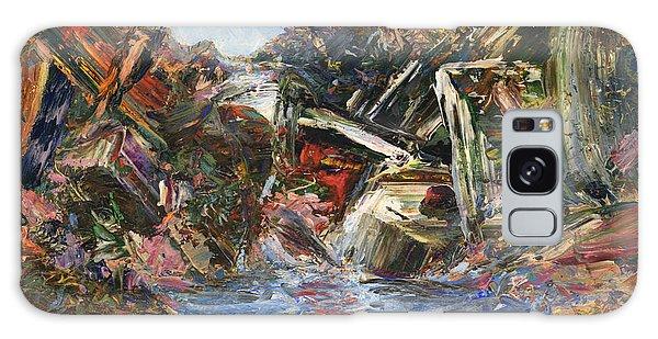 Stream Galaxy Case - Mountain Pool by James W Johnson