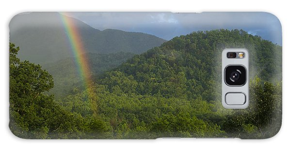 Mountain Rainbow 2 Galaxy Case by Larry Bohlin