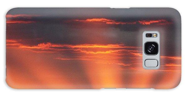 Mountain Rays Galaxy Case