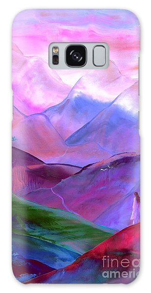 Heather Galaxy Case - Mountain Reverence by Jane Small