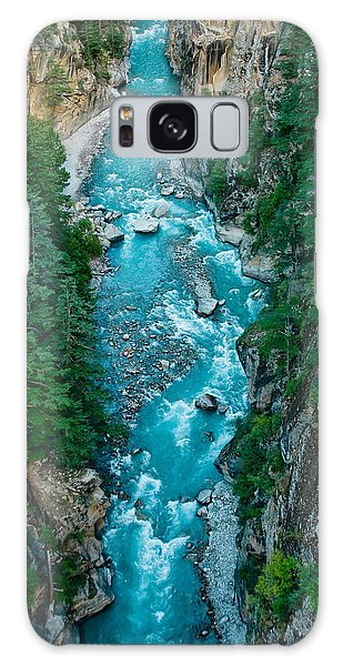 Mountain River Ganga In Valley Himalayas India Galaxy Case
