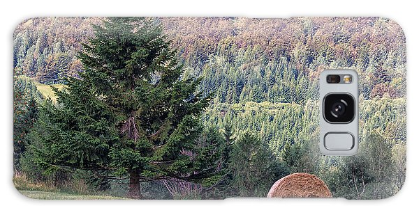 Mountain Sheaf And Tree. Italy Galaxy Case