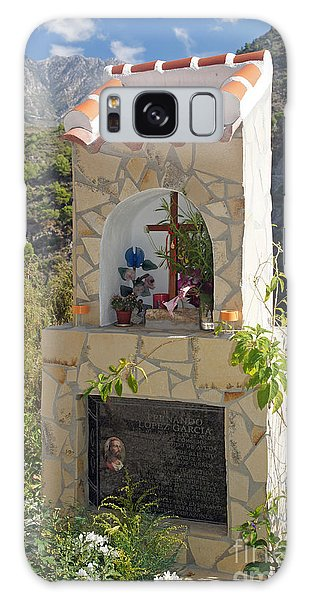 Mountain Shrine Galaxy Case by Rod Jones
