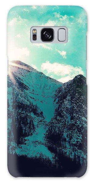 Mountain Starburst Galaxy Case by Kim Fearheiley