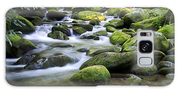 Mountain Stream 1 Galaxy Case by Larry Bohlin