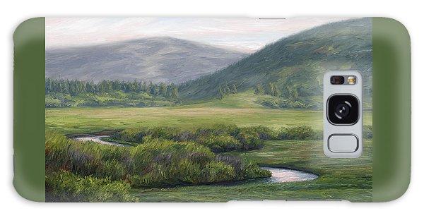 Scenery Galaxy Case - Mountain Stream 1 by Lucie Bilodeau
