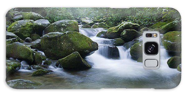 Mountain Stream 2 Galaxy Case by Larry Bohlin