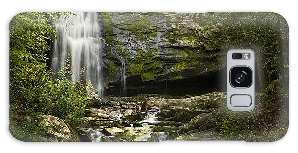 Mountain Stream Falls Galaxy Case