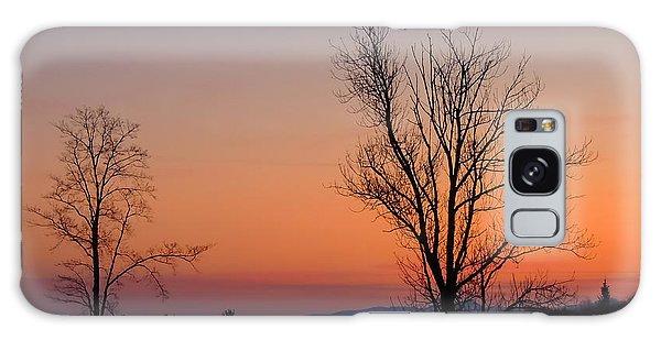 Mountain Sunset 1 Galaxy Case