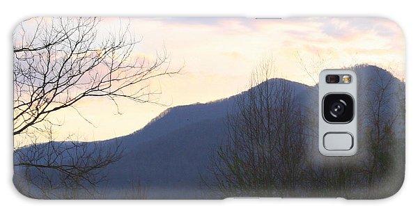 Mountain Sunset Eight Galaxy Case by Paula Tohline Calhoun