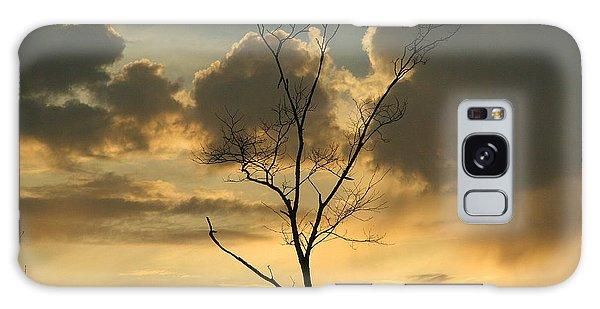 Mountain Sunset Four Galaxy Case by Paula Tohline Calhoun