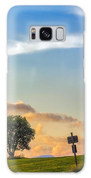 Mountain Sunset. Italy Galaxy Case