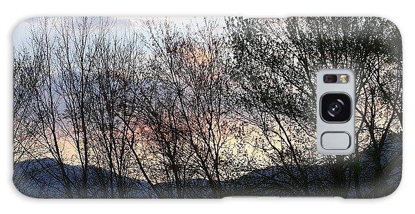 Mountain Sunset Nine Galaxy Case by Paula Tohline Calhoun