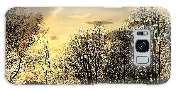 Mountain Sunset One Galaxy Case by Paula Tohline Calhoun