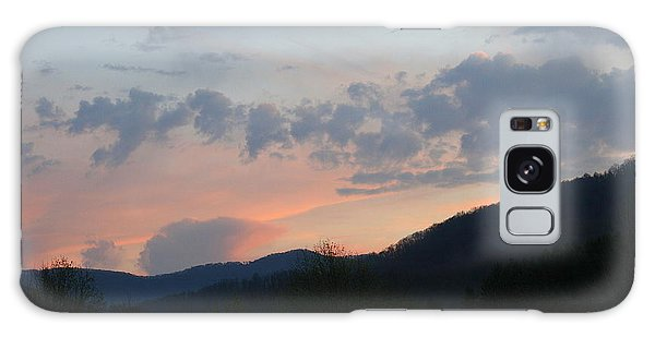 Mountain Sunset Twelve Galaxy Case