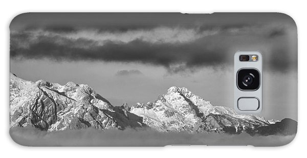 Mountains And Clouds Galaxy Case