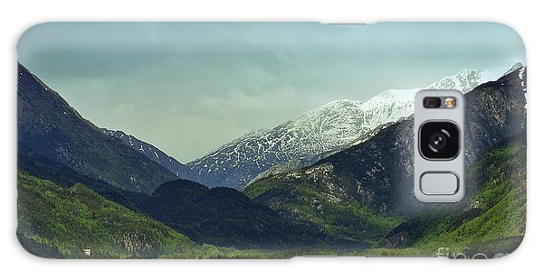 Mountains Beyond Skagway Galaxy Case
