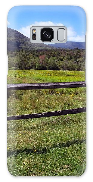 Mountains Beyond The Fence Galaxy Case